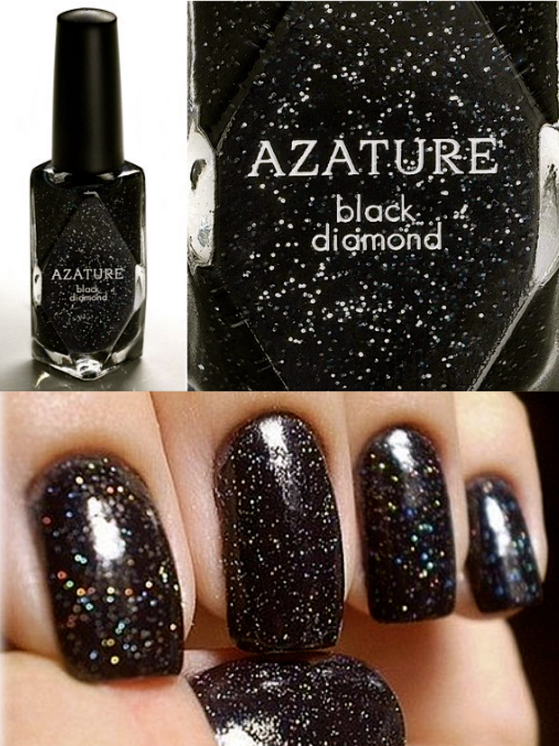Black Diamonds are a nails best friend??!!