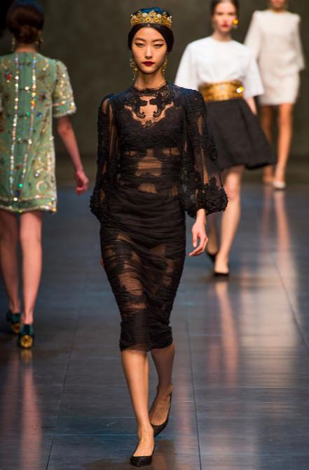Dolce & Gabbana Fall 2013 RTW 2
