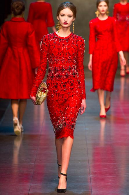 Dolce & Gabbana Fall 2013 RTW 3