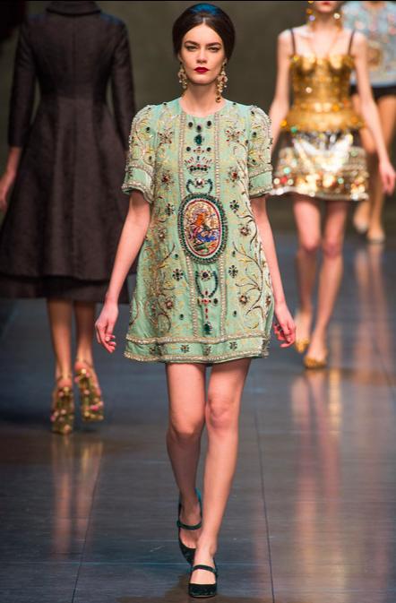 Dolce & Gabbana Fall 2013 RTW