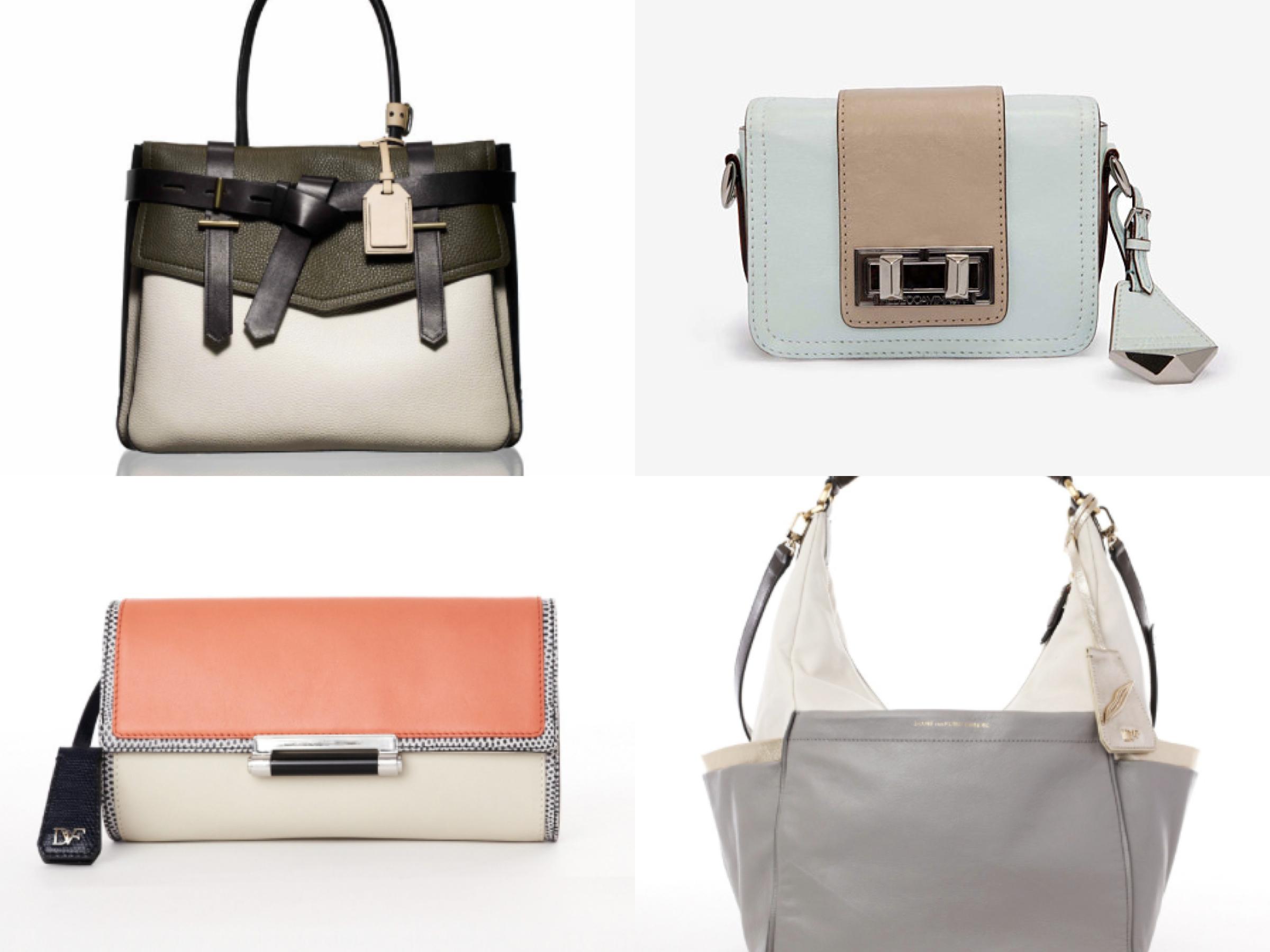 Colour block bags 2