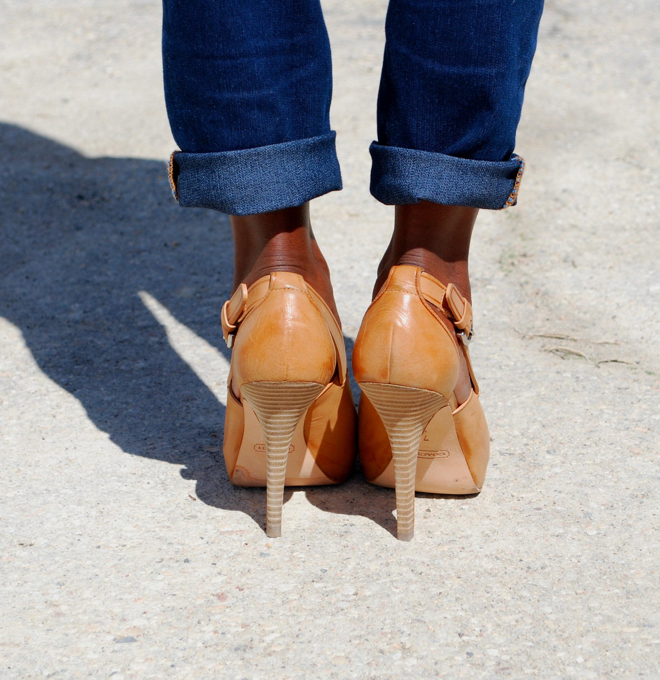 ootd shoe shot