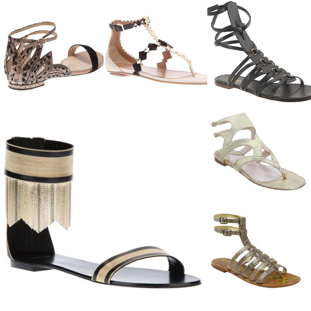 Sandal collage 1