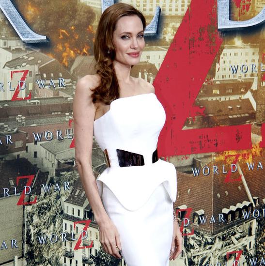 Angelina Jolie crop shot