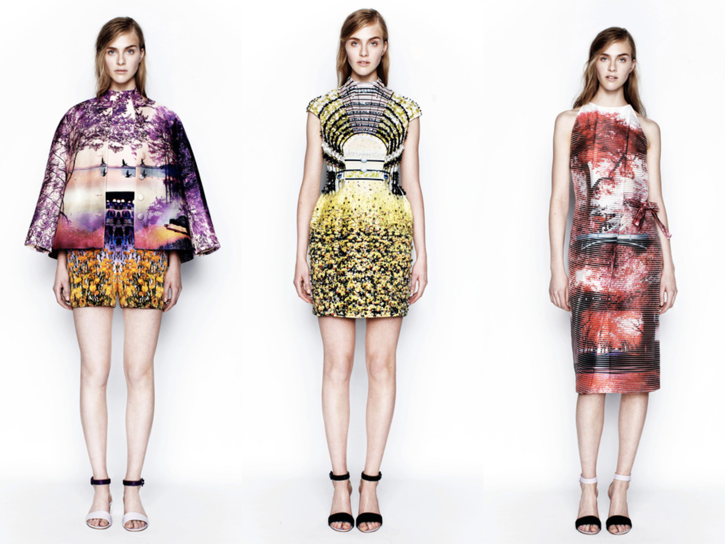 Mary Katrantzou Resort collage 1