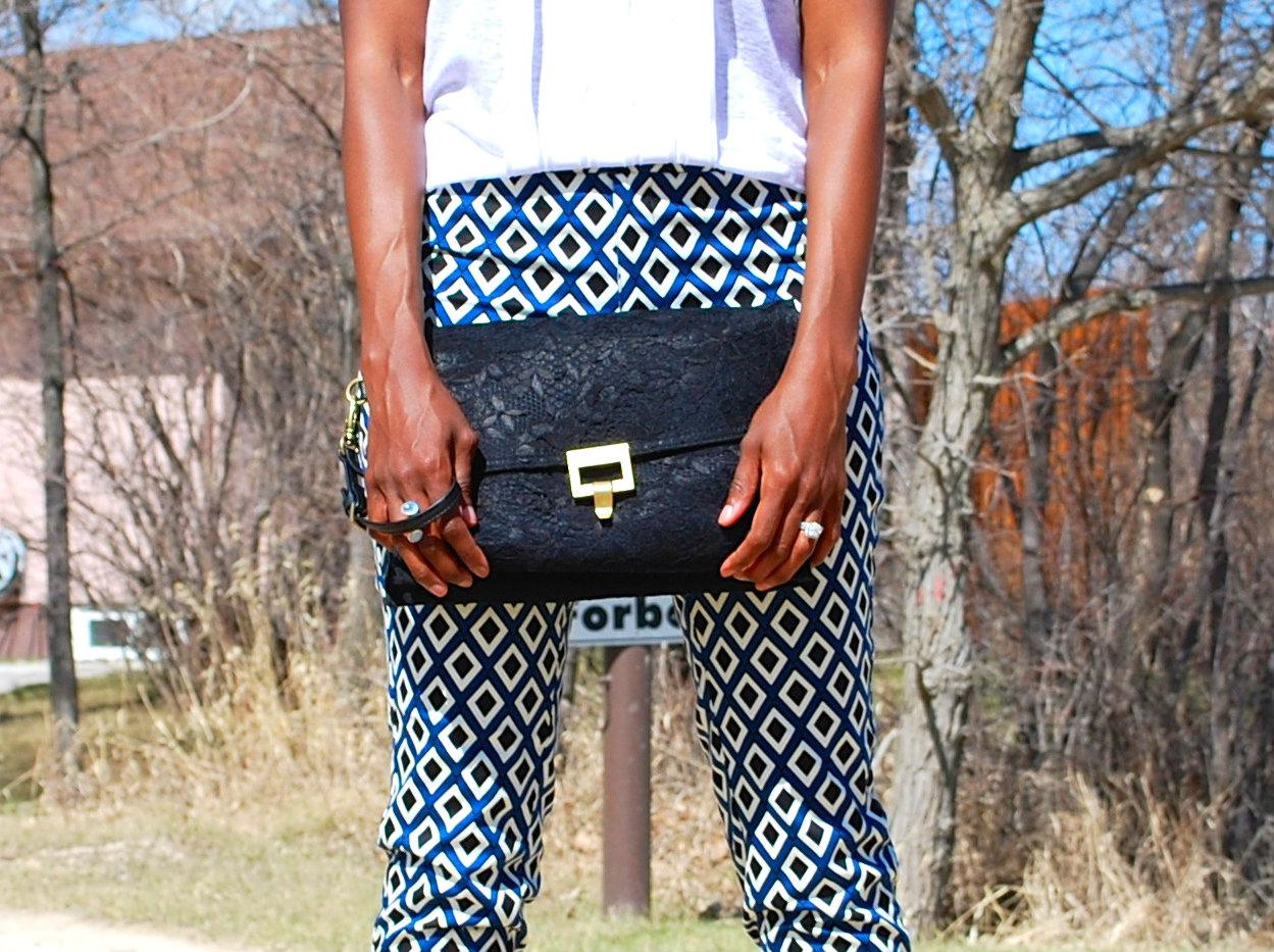 printed purse shot