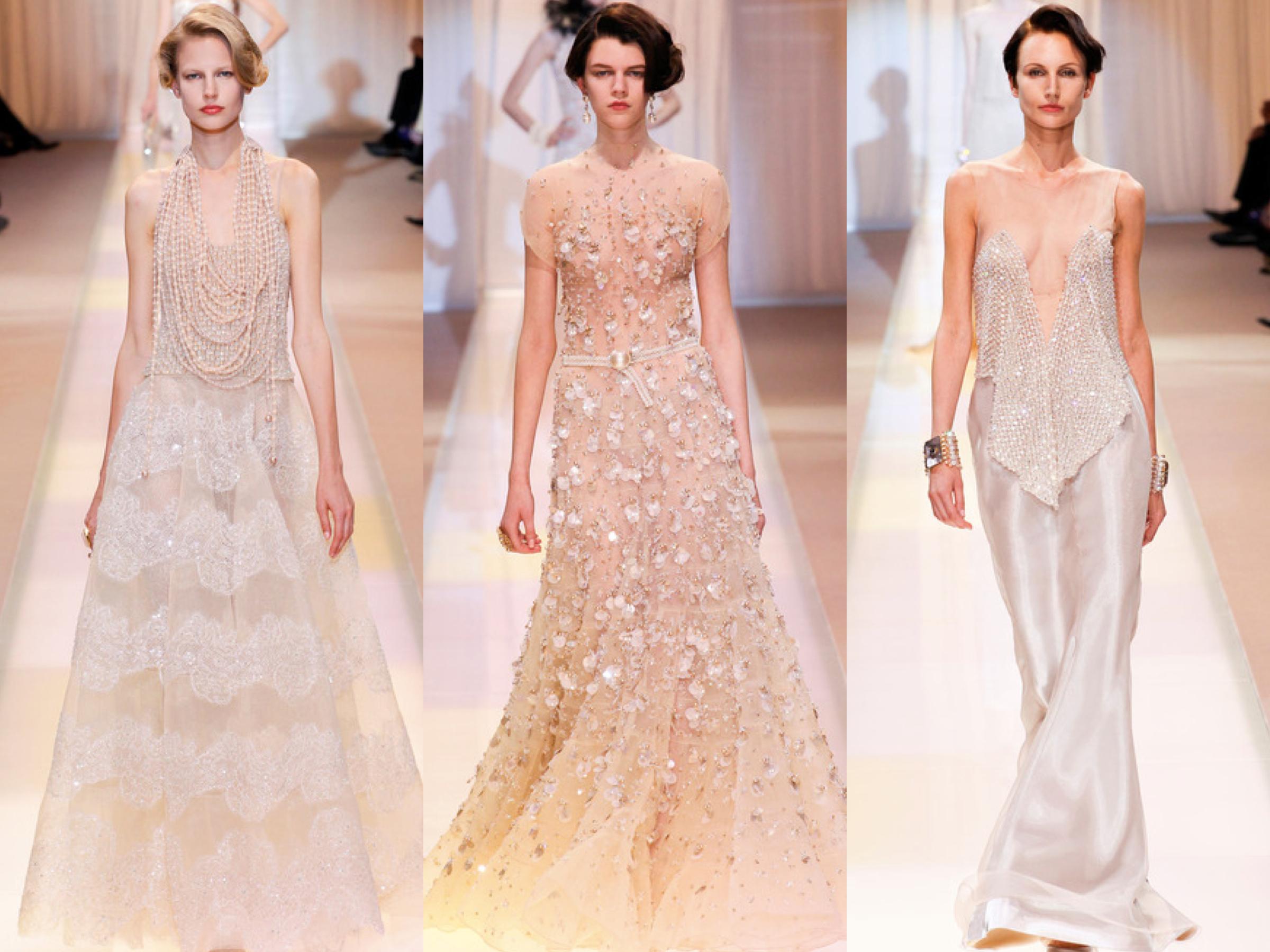 Armani Privé Fall Couture Collage 3