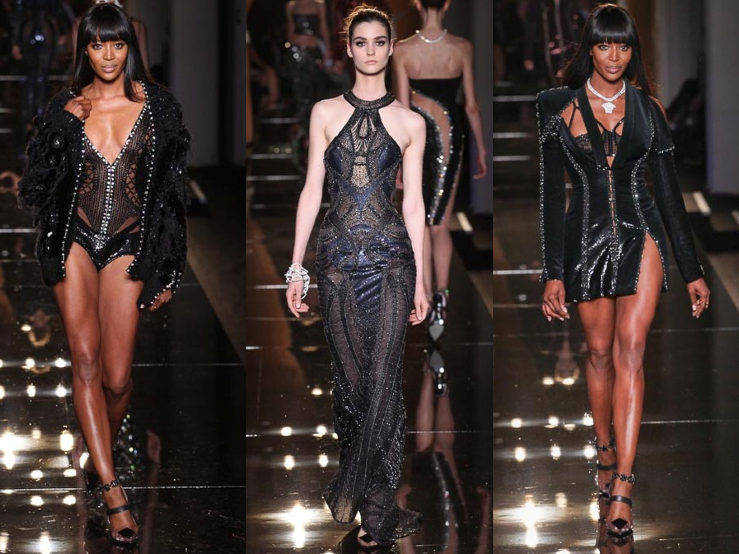 Atelier Versace Fall couture 2013 Collage