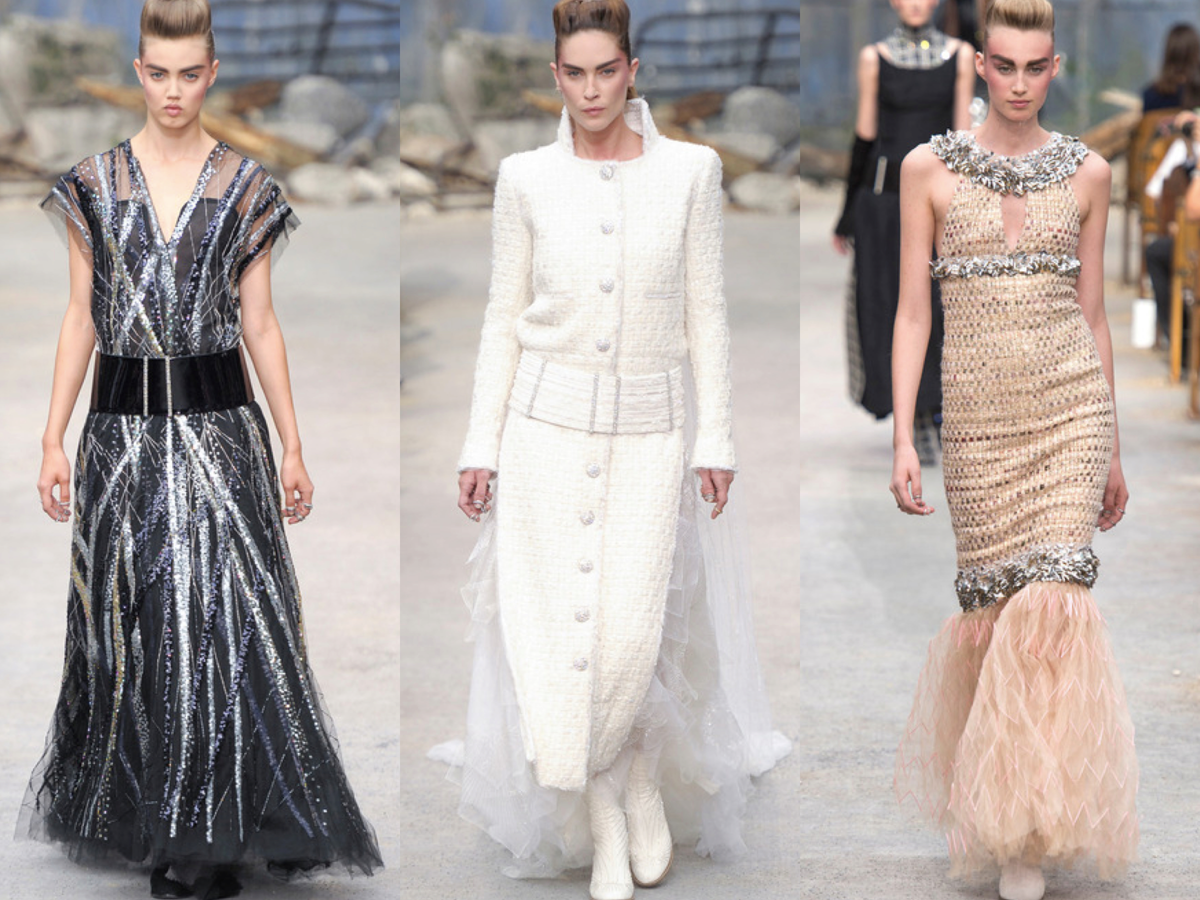 Chanel Fall Couture 2013 collage 2
