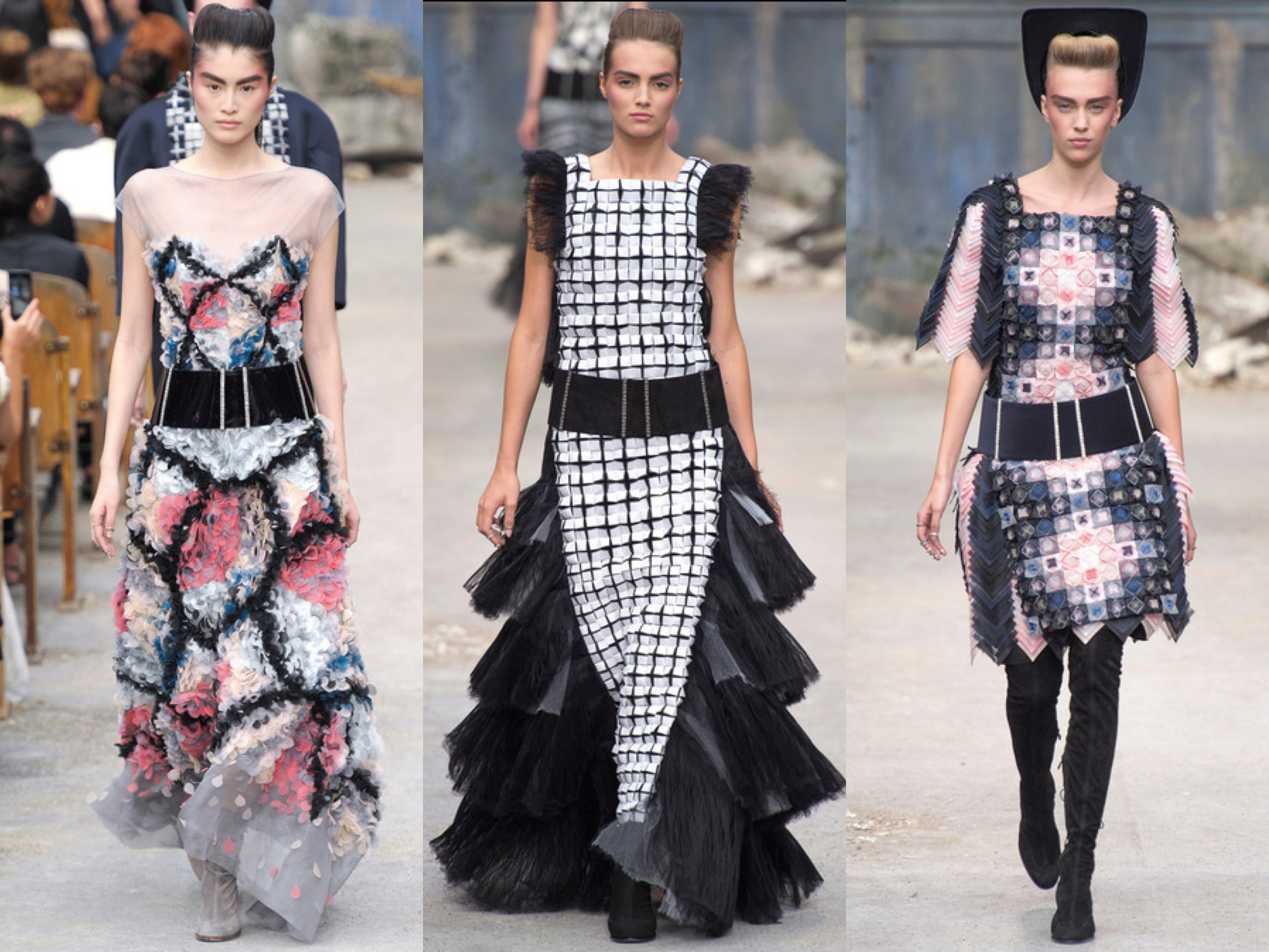 Chanel Fall Couture collage 2013