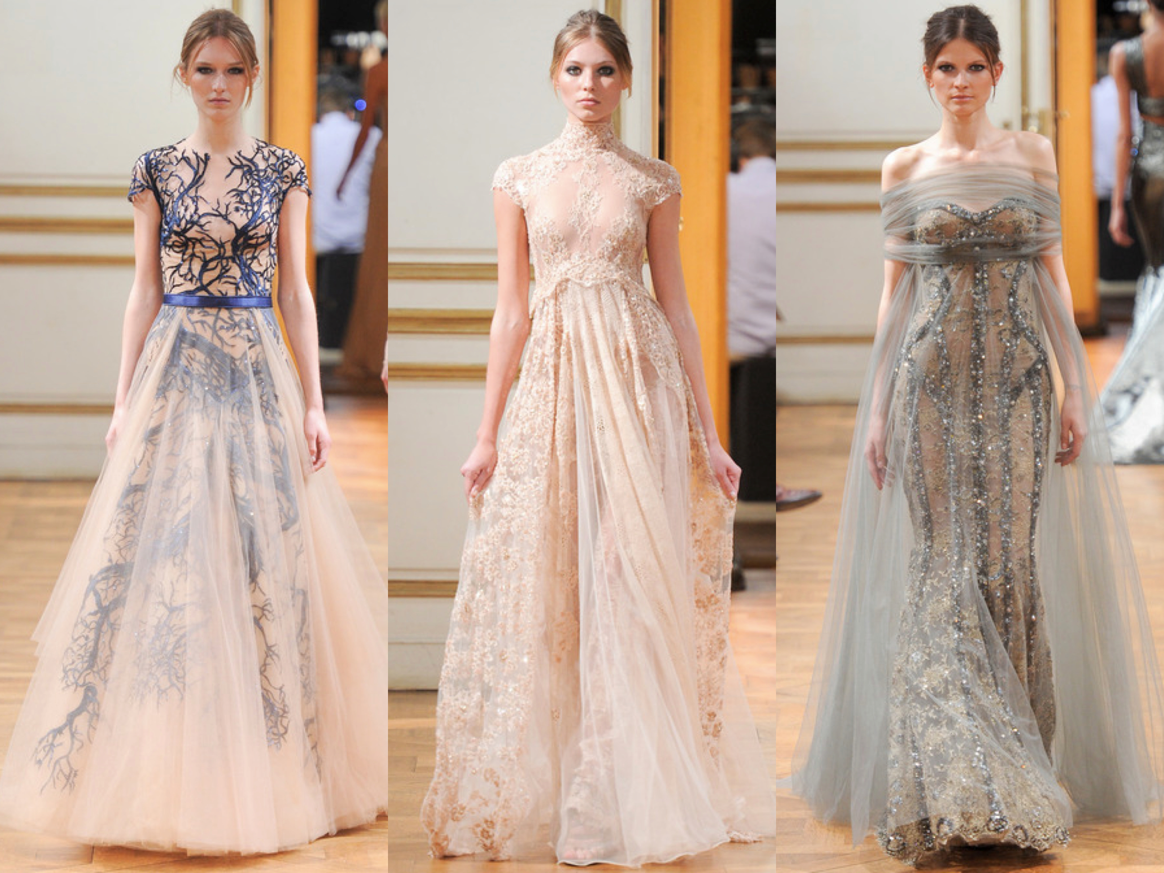 Zuhair Murad Fall Couture 2013 Collage 2