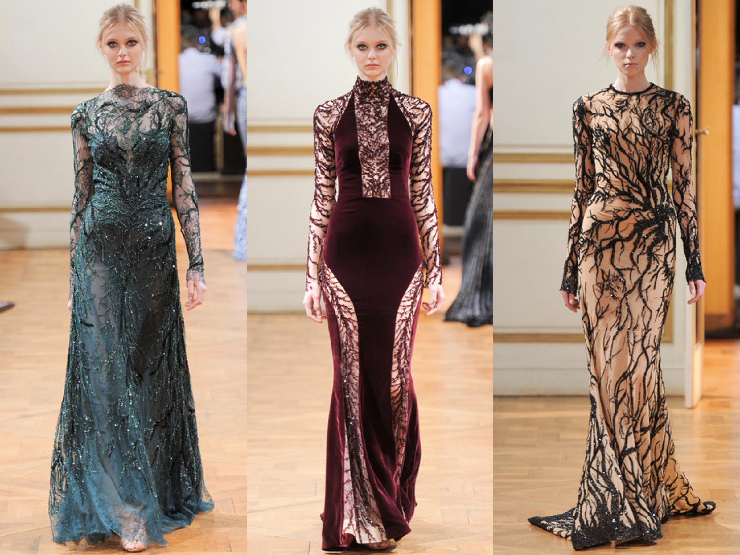 Zuhair Murad Fall Couture 2013 Collage 4