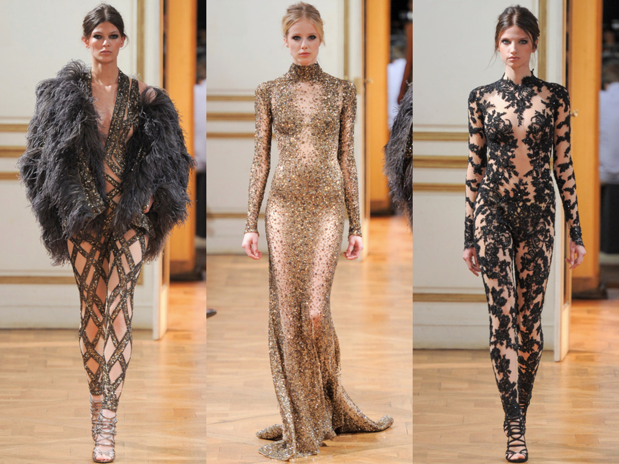 Zuhair Murad Fall Couture 2013 Collage
