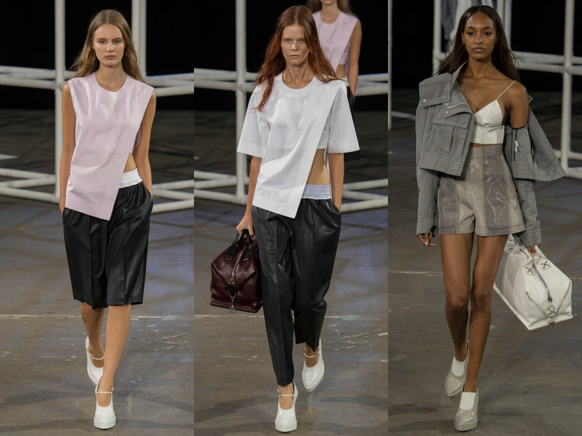 Alexander Wang spring 2014 collage 3