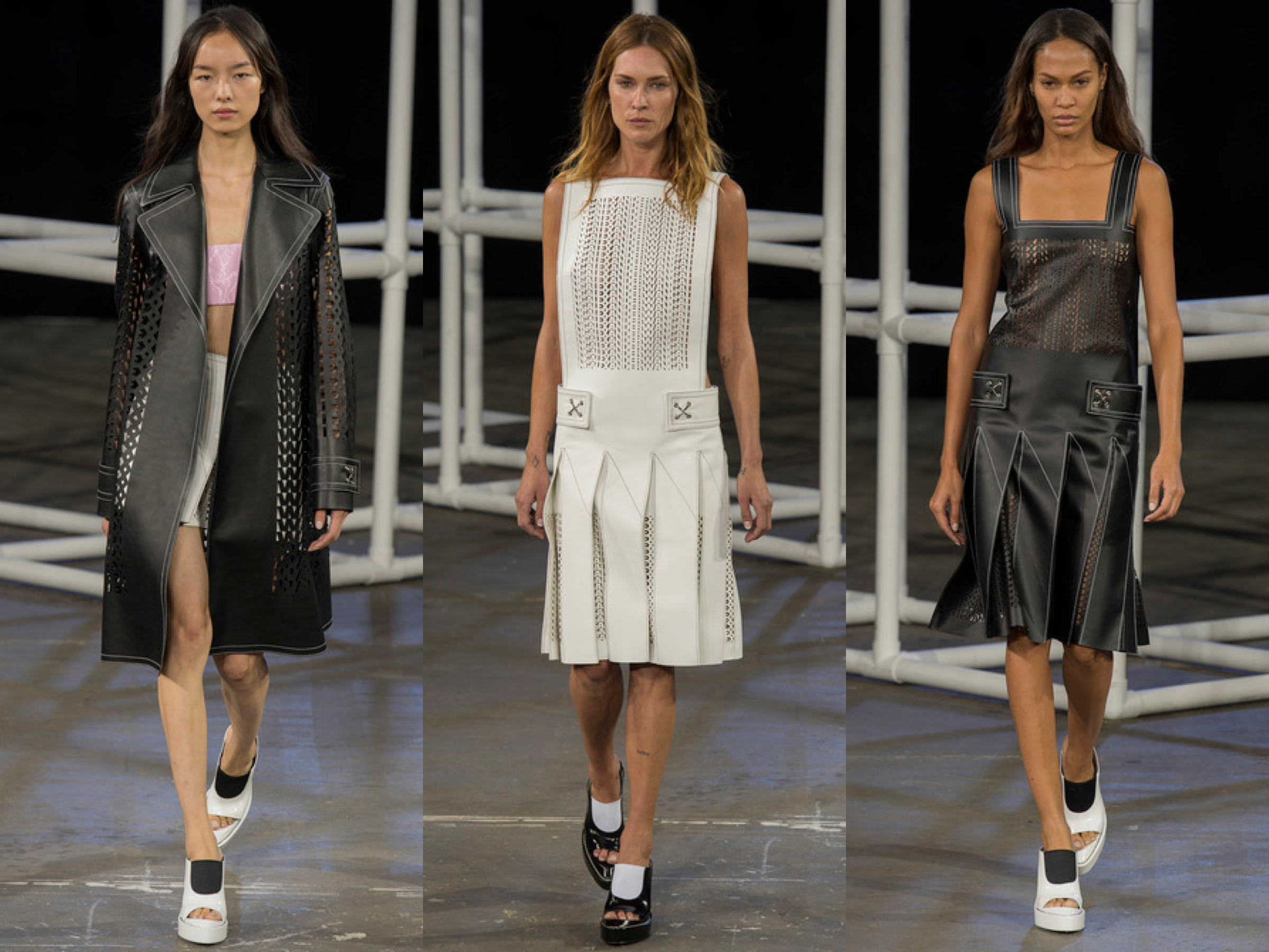 Alexander Wang spring 2014 collage 5
