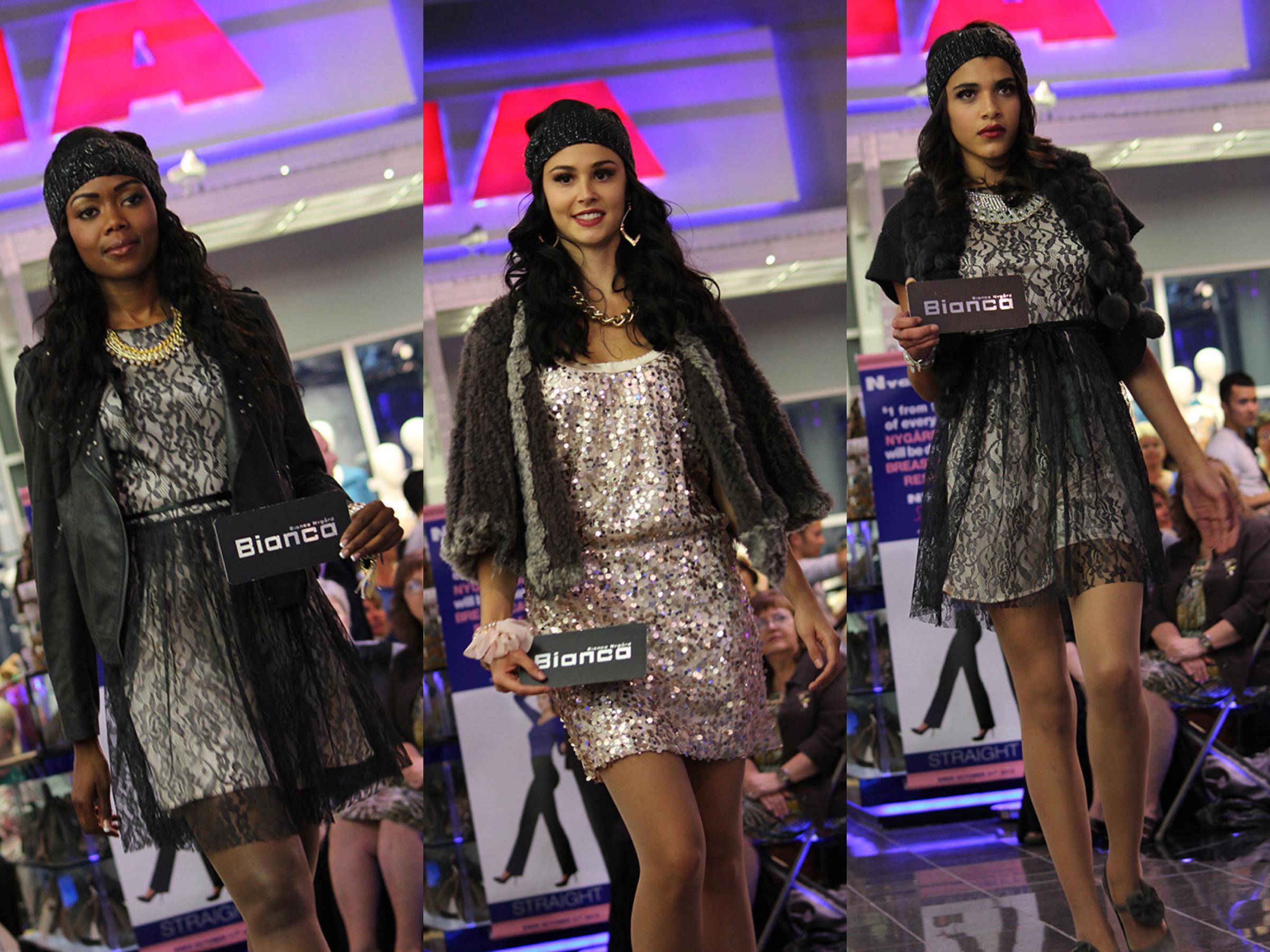 Nygard lace glitter models
