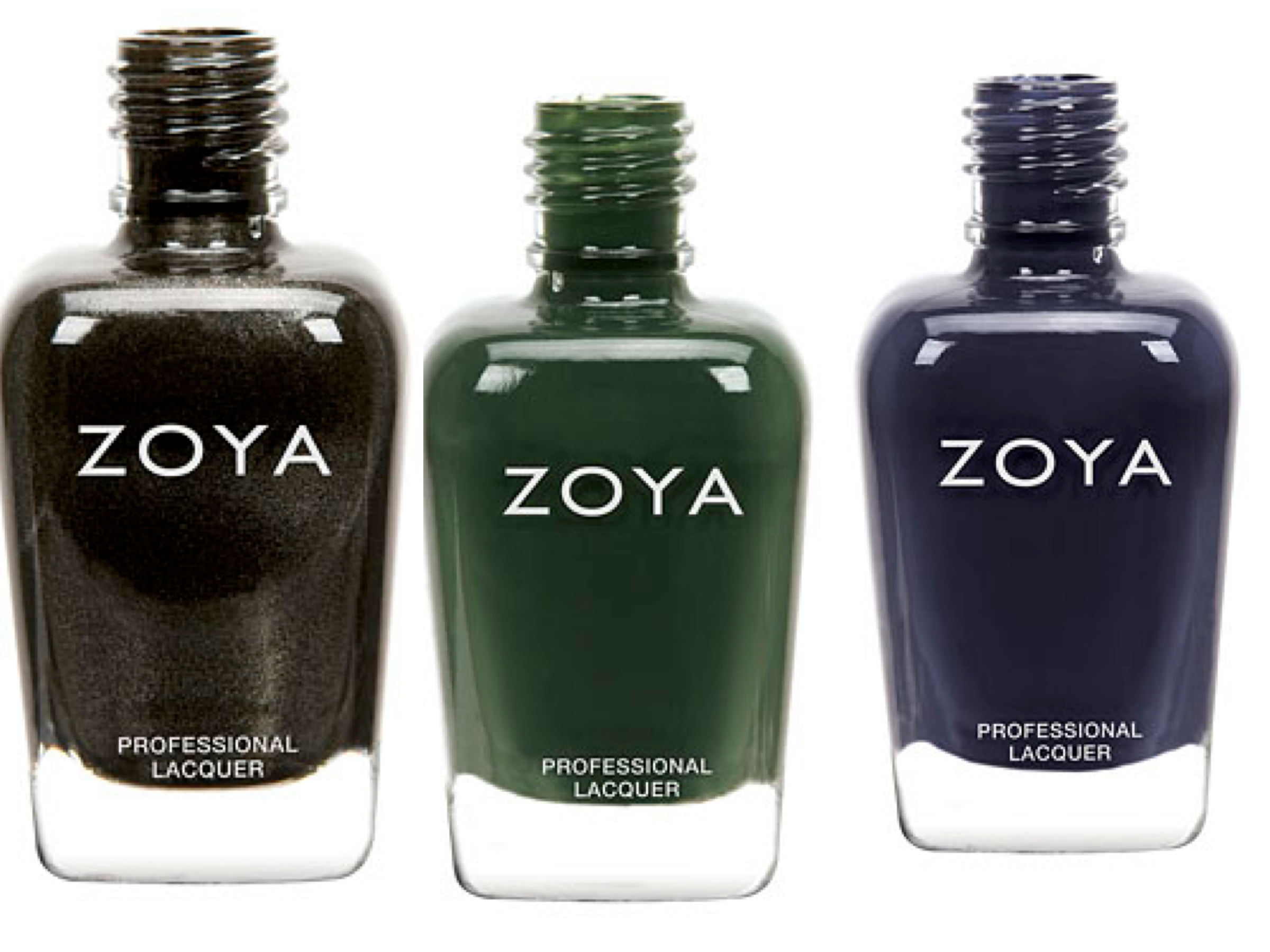 Zoya polish collage