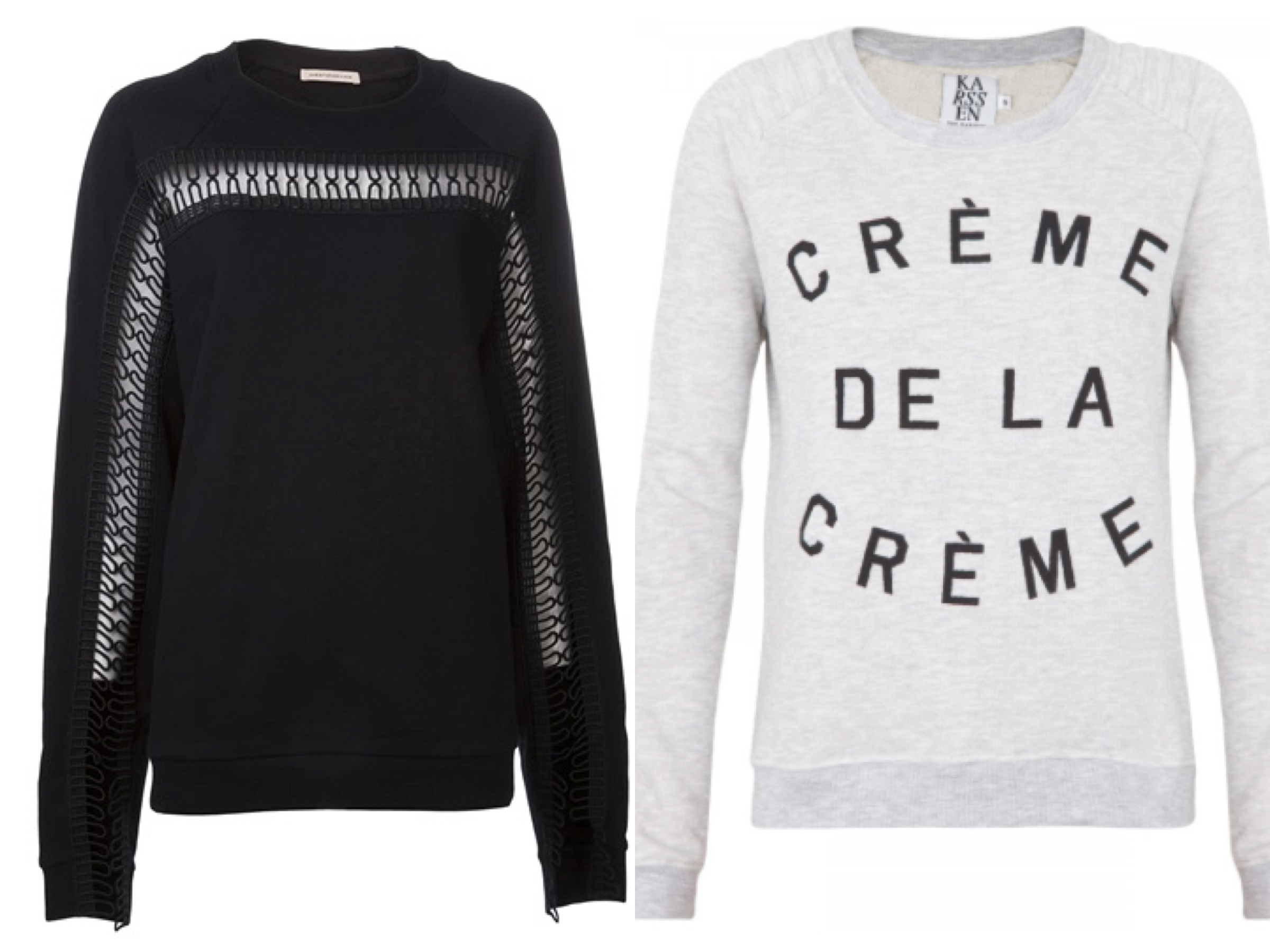 Luxe sweatshirt 10