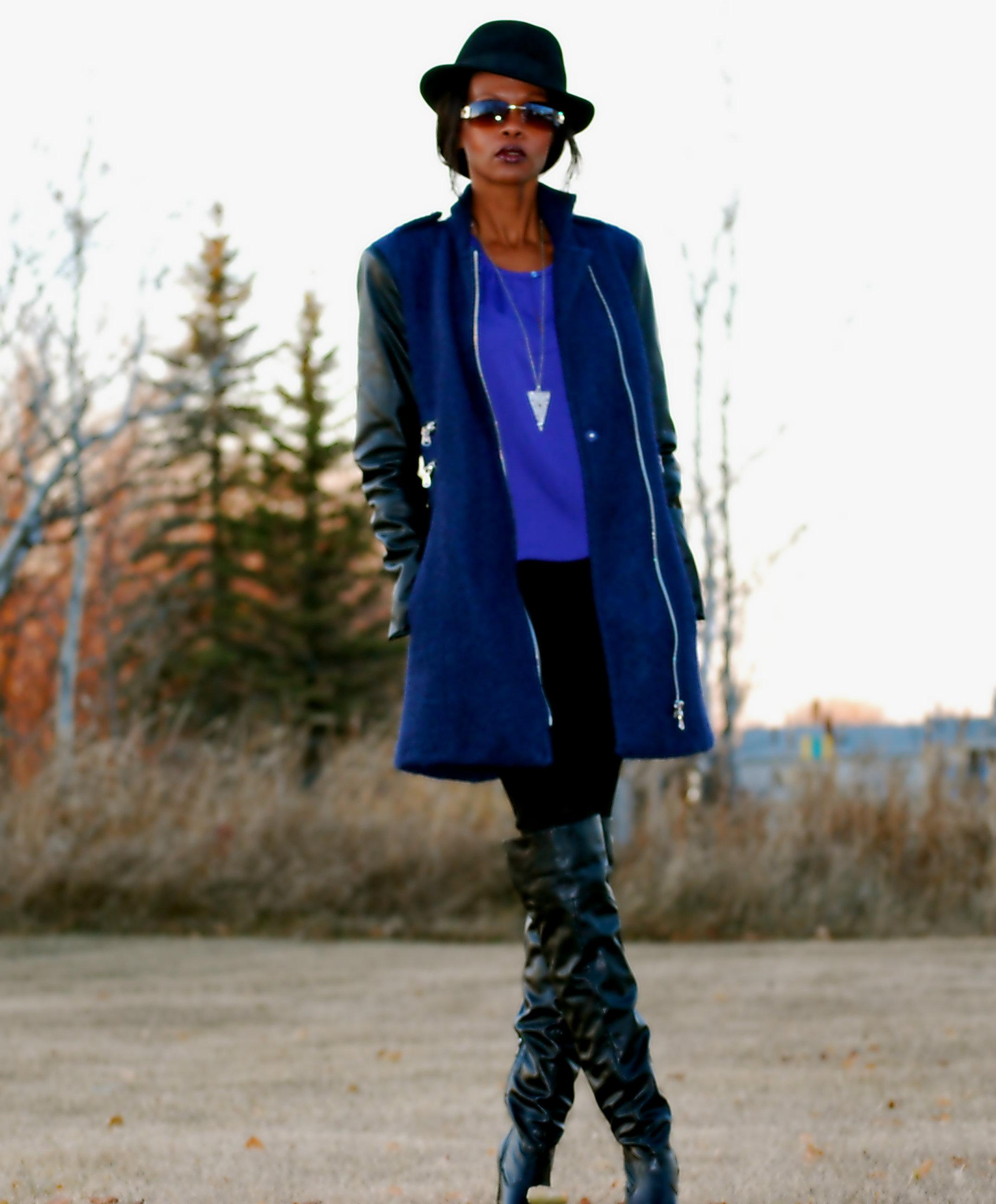 ck jacket ootd 4