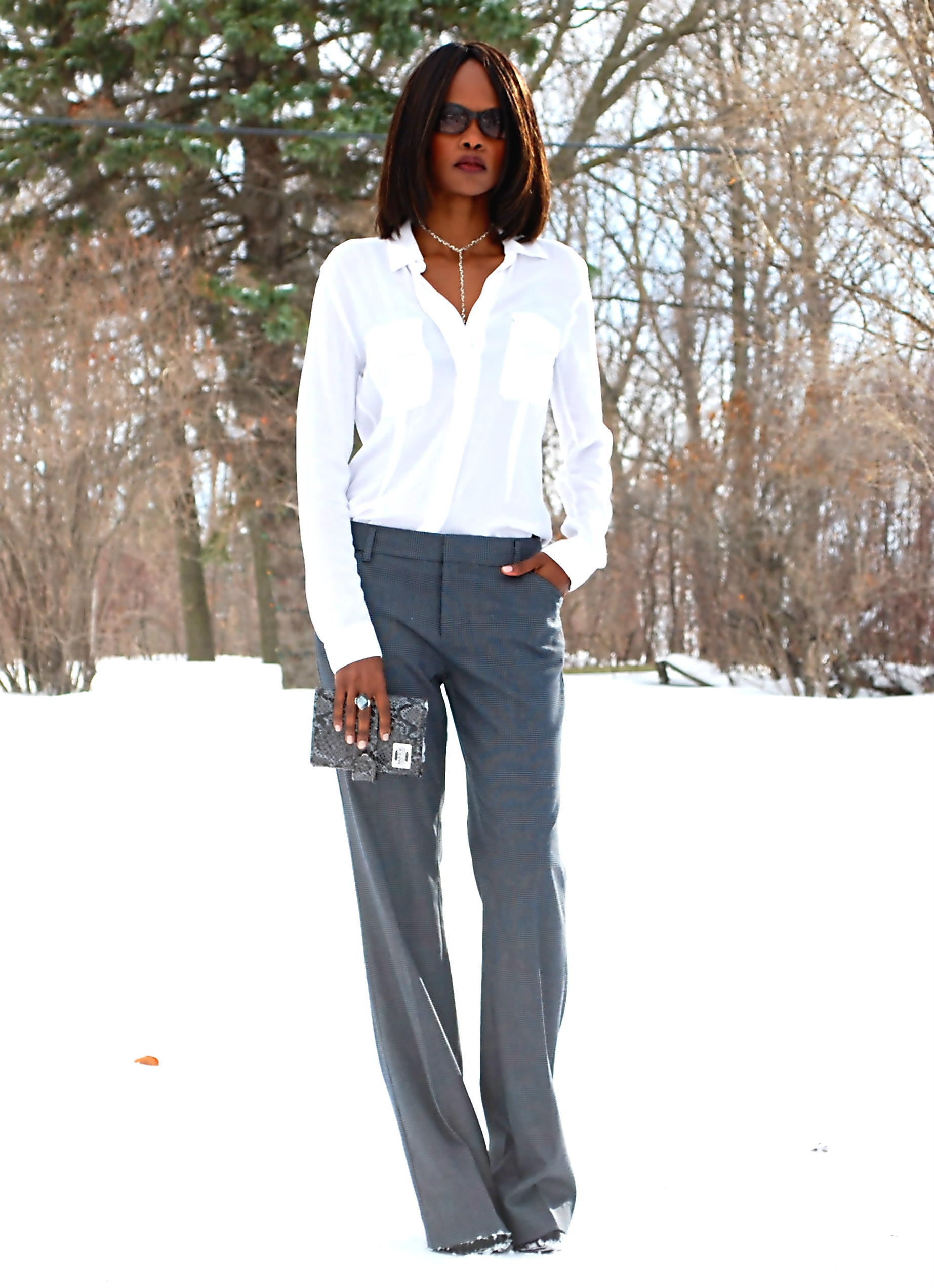 Outfit Of The Day: Wide-leg Pants