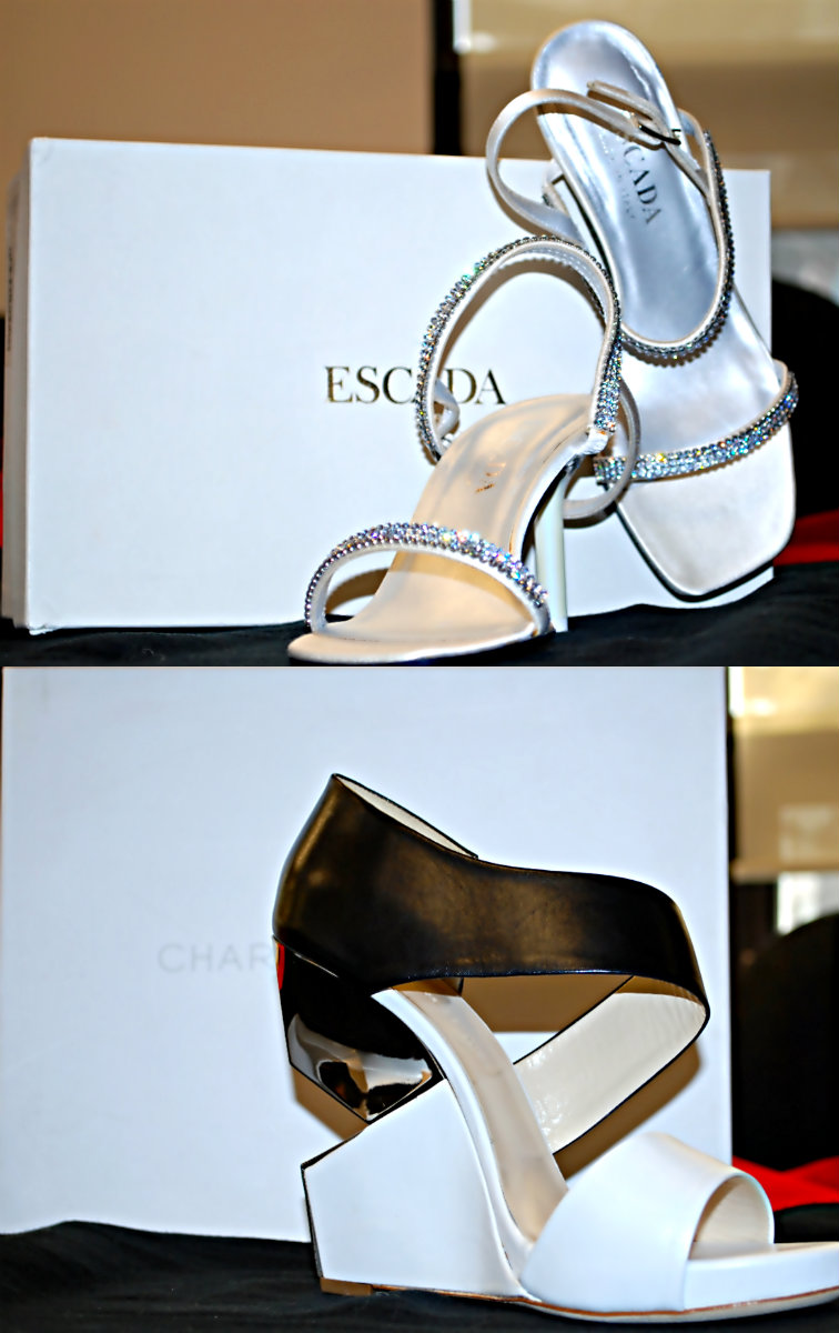 Esacada and charline collage