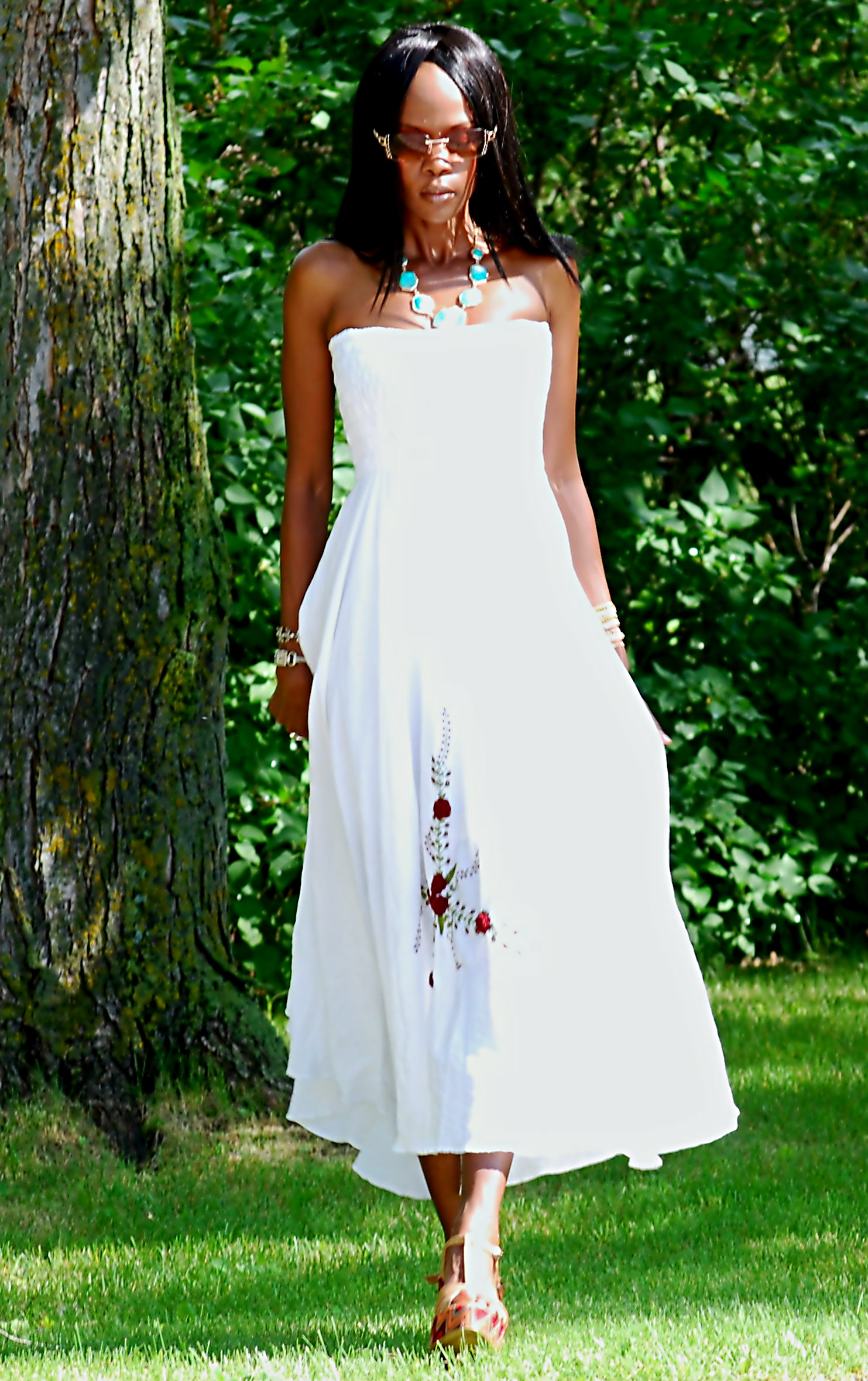 Outfit Of The Day: Summer Maxi Dress