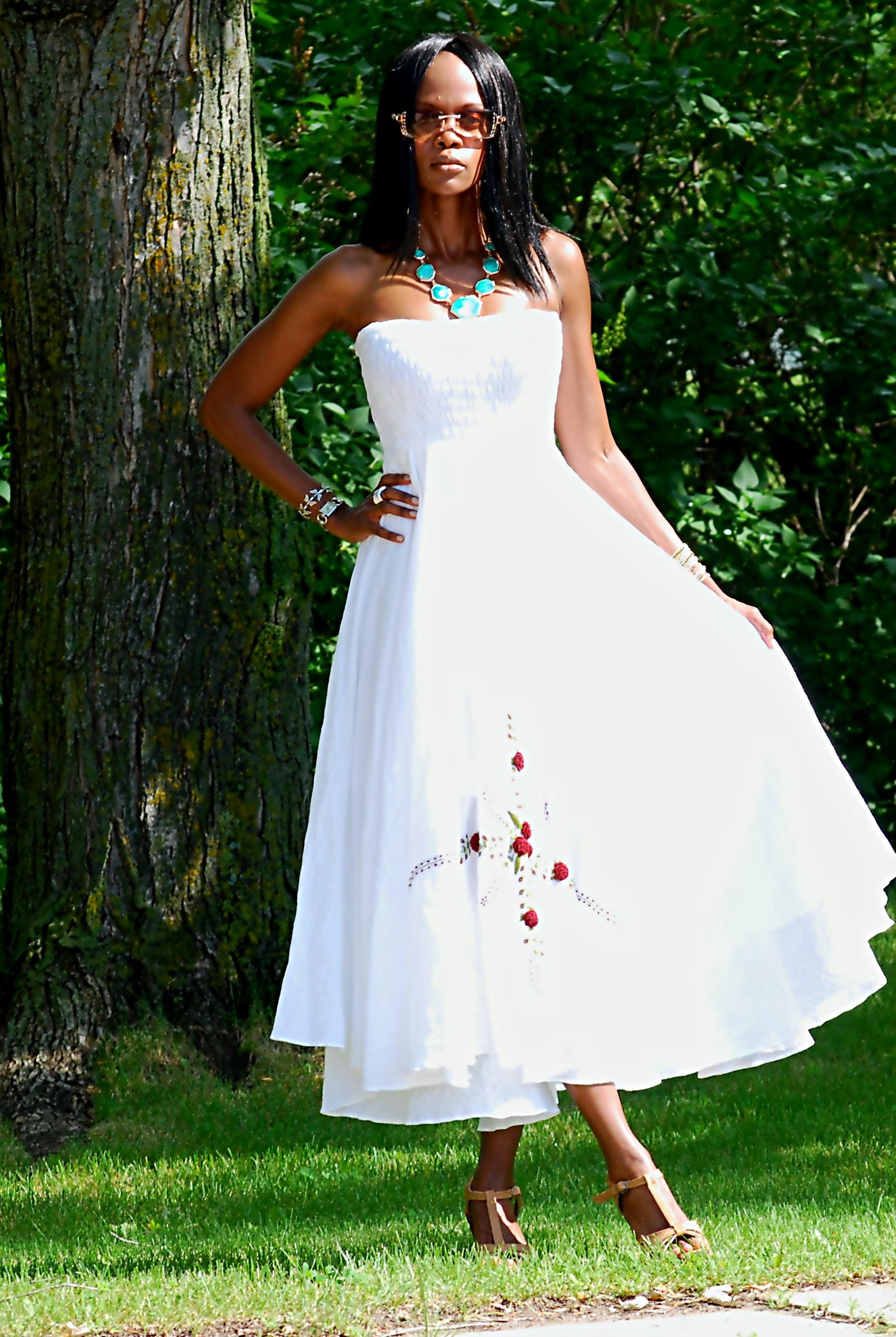 Maxi dress ootd 2
