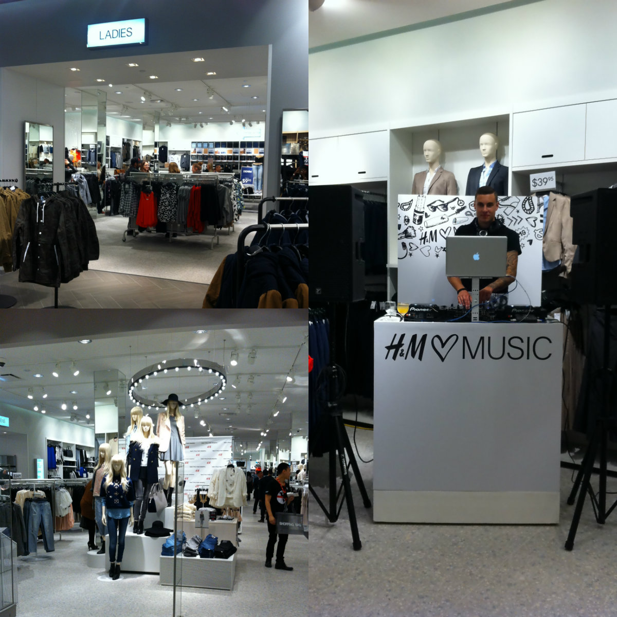 H&M Winnipeg collage 2