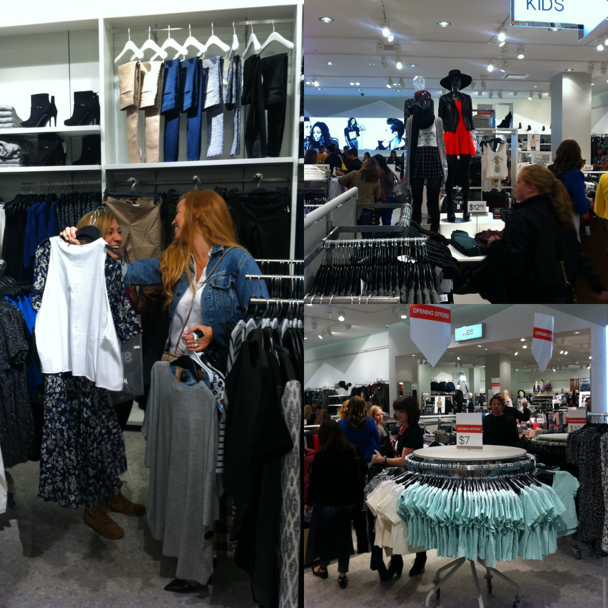 H&M winnipeg collage