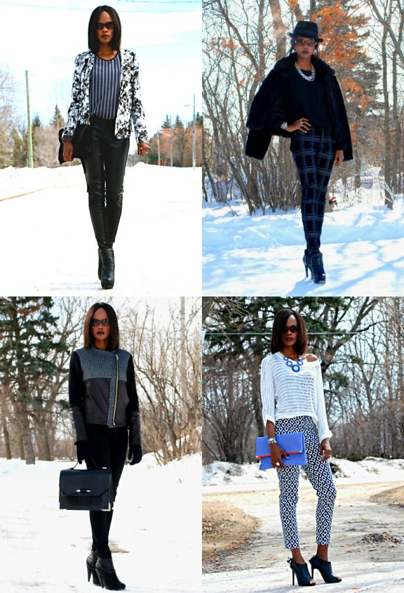 OOTD 2014 collage