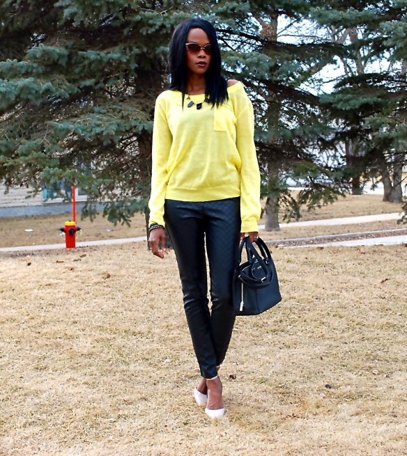 Slims 2.5 Yellow ootd 13