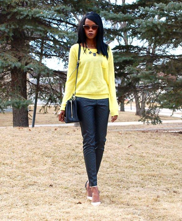 Slims 2.5 Yellow ootd 3